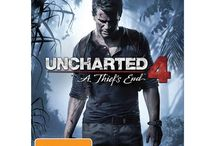 Uncharted 4: A Thief's End / The PlayStation 4 video game called Uncharted 4: A Thief's End.