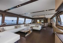Ferretti Yachts 960 Interior Design / Discover the #Interior #Design #MadeInItaly on board of the Ferretti #Yachts 960