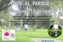 LLEGO YOGA AL PARQUE  CIUDADELA COLSUBSIDIO / YOGA AL PARQUE CIUDADELA DOMINGO 10 DE AGOSTO Alameda del   Humedal  Juan Amarillo detrás del Conjunto Residencial Parques de la Ciudadela Calle 89a #116a-20 (Cortijo) Hora: 9 a 11 am en talleres  cada  30 minutos. Inf: 637 81 97– 2495735. GRATUITO!!! #YOGAALPARQUE   EL LUGAR DONDE ESTAREMOS https://goo.gl/maps/8V2bY