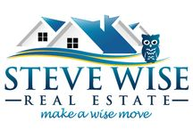 Steve Wise Real Estate Logo  / This is our Logo scan it into your brain ! :D