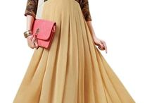 Beautiful Gown / Gowns Online, Womens Western Online Store in India. Cash on delivery at India's favourite Online Shop - Desihault.com