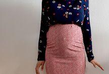 Inspiration jupe grossesse crayon / Les jupes crayon sont si tendances qu'elles sont devenues le must-have du dressing féminin. Quel que soit votre style de future maman, vous allez être séduites par notre sélection de jupes crayon de maternité.