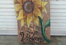 Flower boards