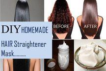 hair straighting