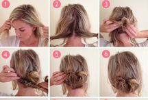 Hair DIY / All thing great about hair and how you can do things yourself