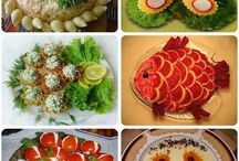 Creative food dishes