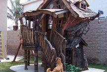 Little shacks