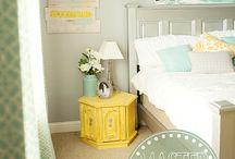 Bedrooms / by Jen (Balancing Beauty and Bedlam blog