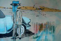 Lisa McKendrick Painting / London based painter.