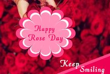 Happy Rose Day  .
