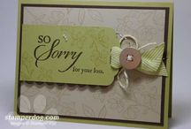 Sympathy Cards / When I need an idea for a new style.