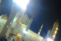 Masjid Nabawi Wallpaper At Night / Masjid Nabawi Wallpaper at Night,Masjid Medina Photographs
