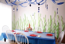 Braydin's b-day party / My collection of ideas for Braydin's first birthday party.