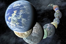 Planets in Our Solar System / Planets of the Milky Way galaxy encompassing Earth's solar system.