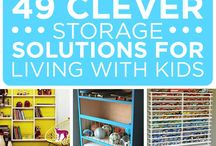 Home Storage & Organisation / Aah the never ending quest for space! No sooner do I have a clear out and create space, it is filled with more disorganisation & chaos! There are some brilliant home storage and organisation tips and products here.