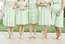 Mint Bridesmaids / by Alexa Webb
