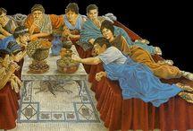 gastronomía y cocina antigua roma