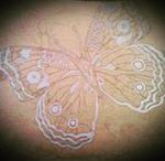 Butterfly...mariposa...farfalla...marble and silver decoration by AKROS