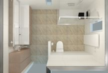 Badkamer voorbeeld: luxe badkamer met alle gemakken