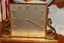 Vintage Clocks / #Vintage #clocks.   https://www.facebook.com/RebeccasTeasures?ref=aymt_homepage_panel