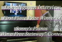 WINNERS of Win A Free Steinway Contest Interviews  / Sonny's Pianos held a Facebook contest this fall, and the top 3 contestants with the most votes received a beautiful Steinway Piano.