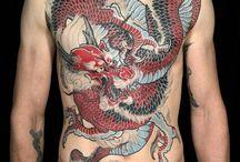 japonese dragon tattoo