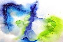 Meine Malerei / Aquarelle und Acrylbilder auf meiner Website www.texte-und-bilder.com