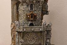 miniatur bangunan kuno