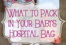 Baby Must-Haves / Things I'll need for baby after the birth...at the hospital and at home.