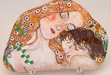 Klimt on stones