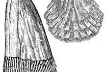 Patterns - Victorian - 1870s-1880s