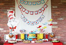 Birthday party- dr seus / by Adrienne Buckles