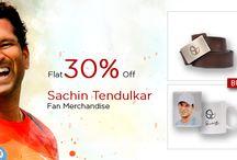 End of Season Sale 2014 / 30% on fan merchandise of #SachinTendulkar #ViratKohli and #Dhoom3