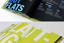 Editorial layout book design / by Anne Nava