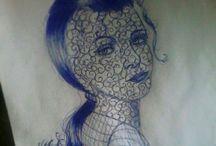 desenho a caneta