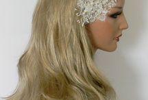 My Work ***Wedding Accessories*** / Headwear for Wedding Handmade Hair Accessories, Art wear and more . www.farys.com
