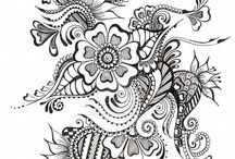 zentangle patrones