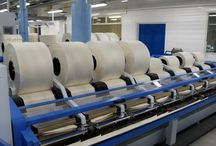 Our Machines / Take a look at our state of the art machinery at Tower Mill. We have the most modern technology available at our upgraded mill in Dukinfield for producing the world's finest cotton yarns.