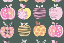 Papier - owoce