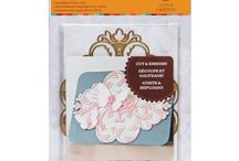 Die cuts - Anna Griffin / Amazingly detailed and beautiful die cuts from Anna Griffin!  Enter PIN10 at checkout for 10% off any order at http://classycardsnsuch.com