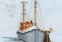 Cross stitch - Seaside