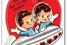 Valantines Card / Lovely Vintage Cards I like