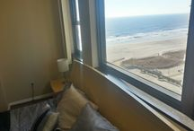 """The Best Views Are Right In This Annual Rental! 15th FL / """"You can see the Ocean from the living room!""""  Coastline, City, Bay and Boardwalk views from the large 100 Sq Ft Balcony! Fully furnished. Extra-wide slat hardwood flooring with gorgeous marble tile in the entrance-way. 1.5 Baths! Dishwasher, garbage disposal and water filter included. Tons of closet space! Pull-out couch in the living room with a full-sized bed. Remote controlled heating and air conditioning. King size bed in the master bedroom. Ocean Club Realty - (609) 345-3101"""