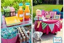 party decor + themes / by Krystle Holt