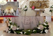 dekoracje kościoła