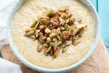 Oats/Porridge + Chia Puddings