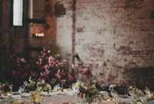 Vintage weddings - inspired by nature / French inspired vintage weddings.