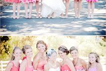 Bridesmaid dresses / Some ideas for my favorite ladies! Theme: pink. Love the look with brown or tan cowboy boots! / by Sarah Livingston