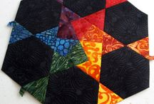 Quilts - english paper piecing