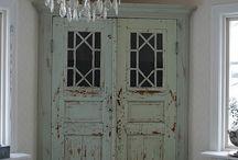 Cabin cabinet ideas / by Kristine Wall